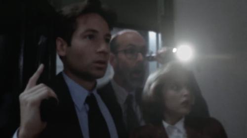 Dana, Fox en Reggie Something in de beginjaren van The X-Files