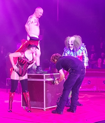 The Circus of Horrors, copyright Marjolein Keijser