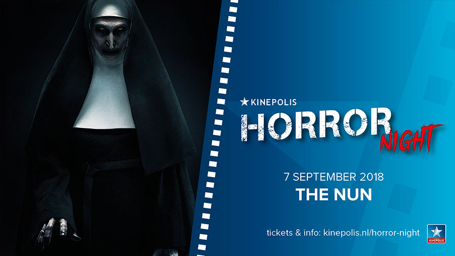 the nun horror night kinepolis