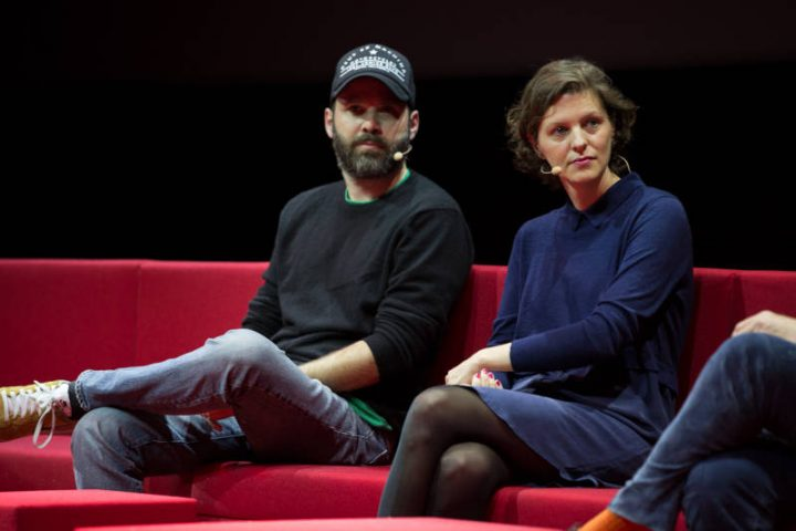 Netflix Event, Paris 11.04.2016 Upcoming European Originals Panel Baran Bo Odar, Jantje Friese