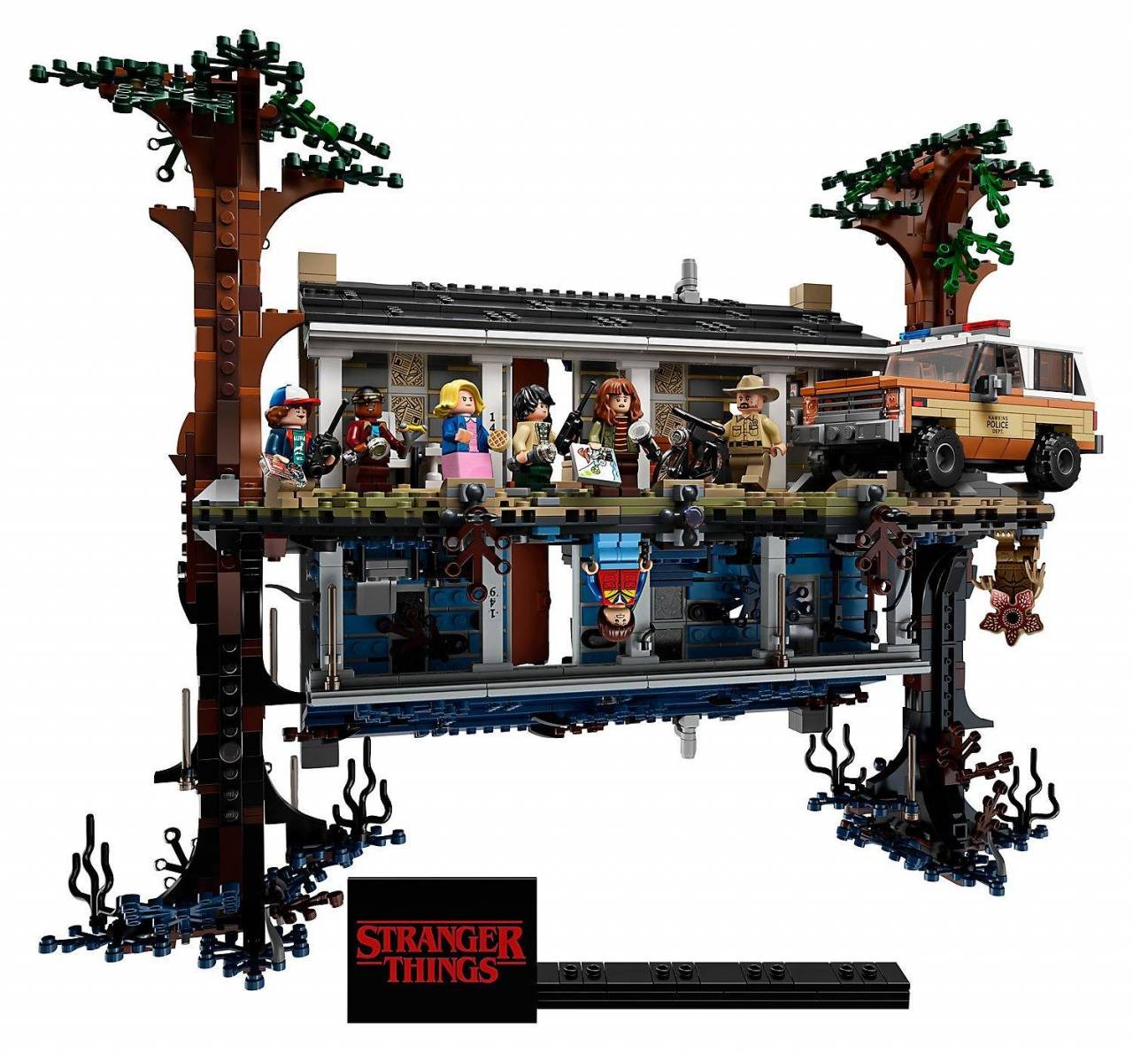 Lego Stranger Things - Complete Upside Down set (zonder doos)