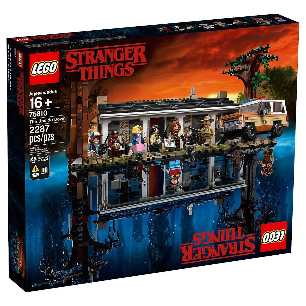 Lego Stranger Things - Complete Upside Down set