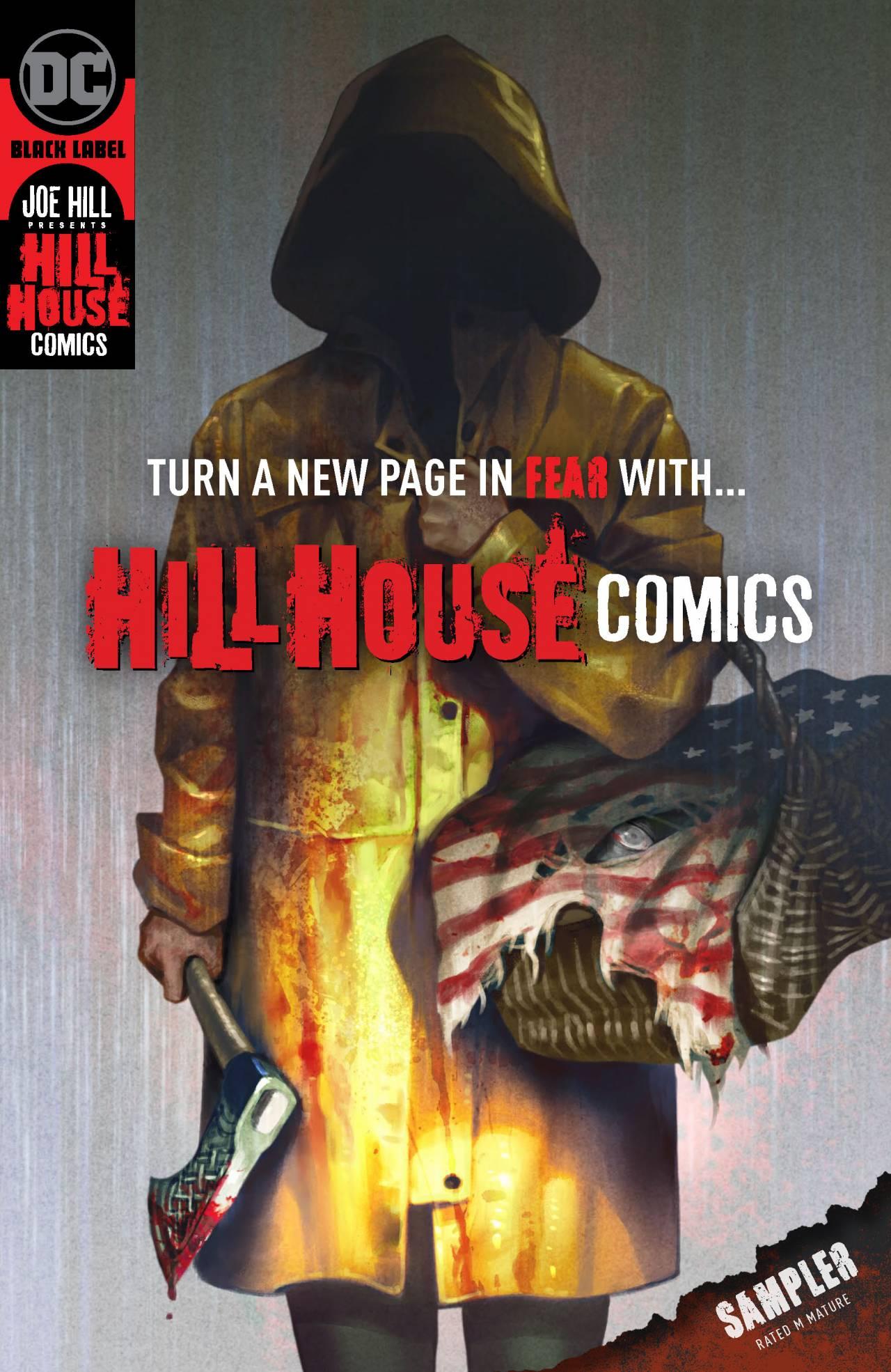Hill House Comics; DC en Joe Hill komen met 5 nieuwe horrorcomics - De Nachtvlinders