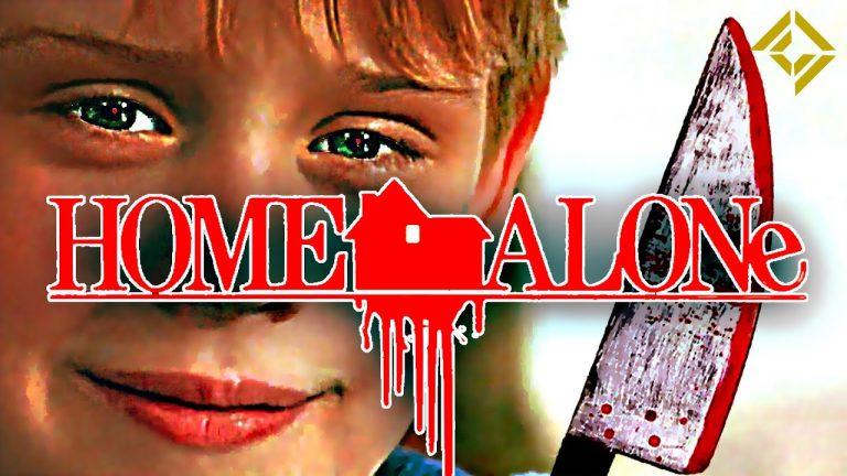 Home Alone met bloed