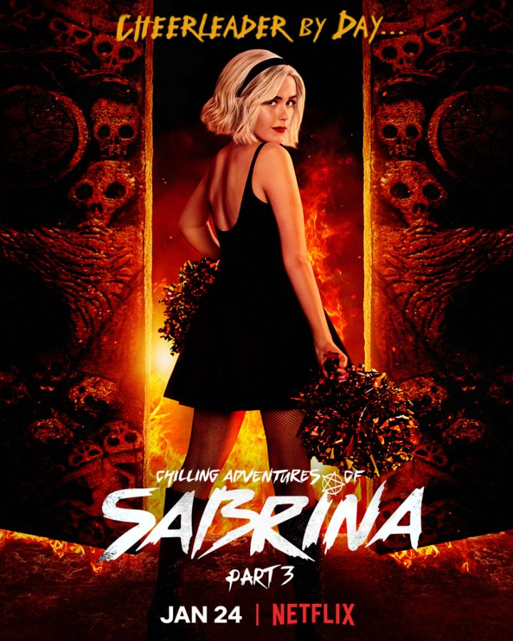 Cheerleader by day - Chilling Adventures of Sabrina: Part 3