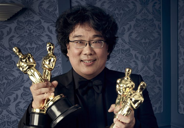 Bong Joon Ho during the 92nd Oscars