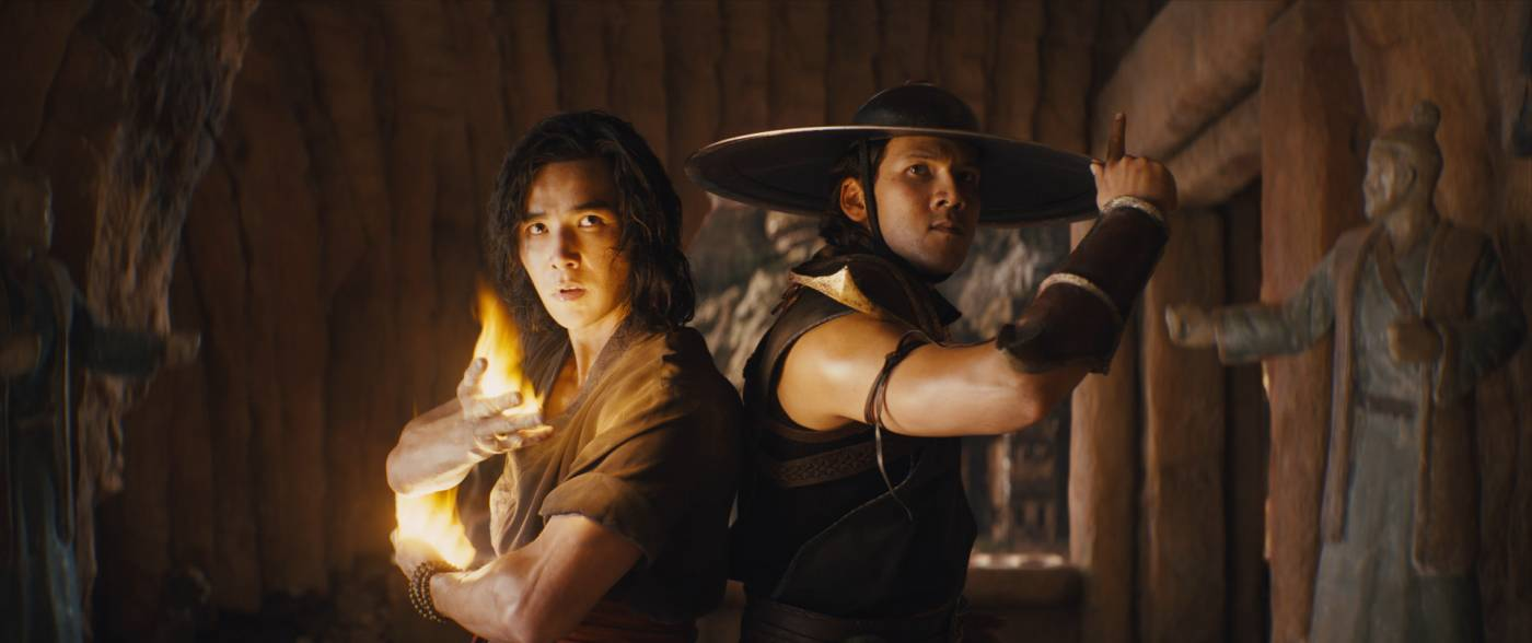 Mortal Kombat - LUDI LIN as Liu Kang and MAX HUANG as Kung Lao
