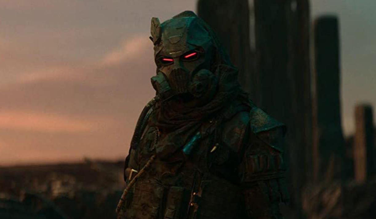 Daniel Nelson als Kabal in Mortal Kombat