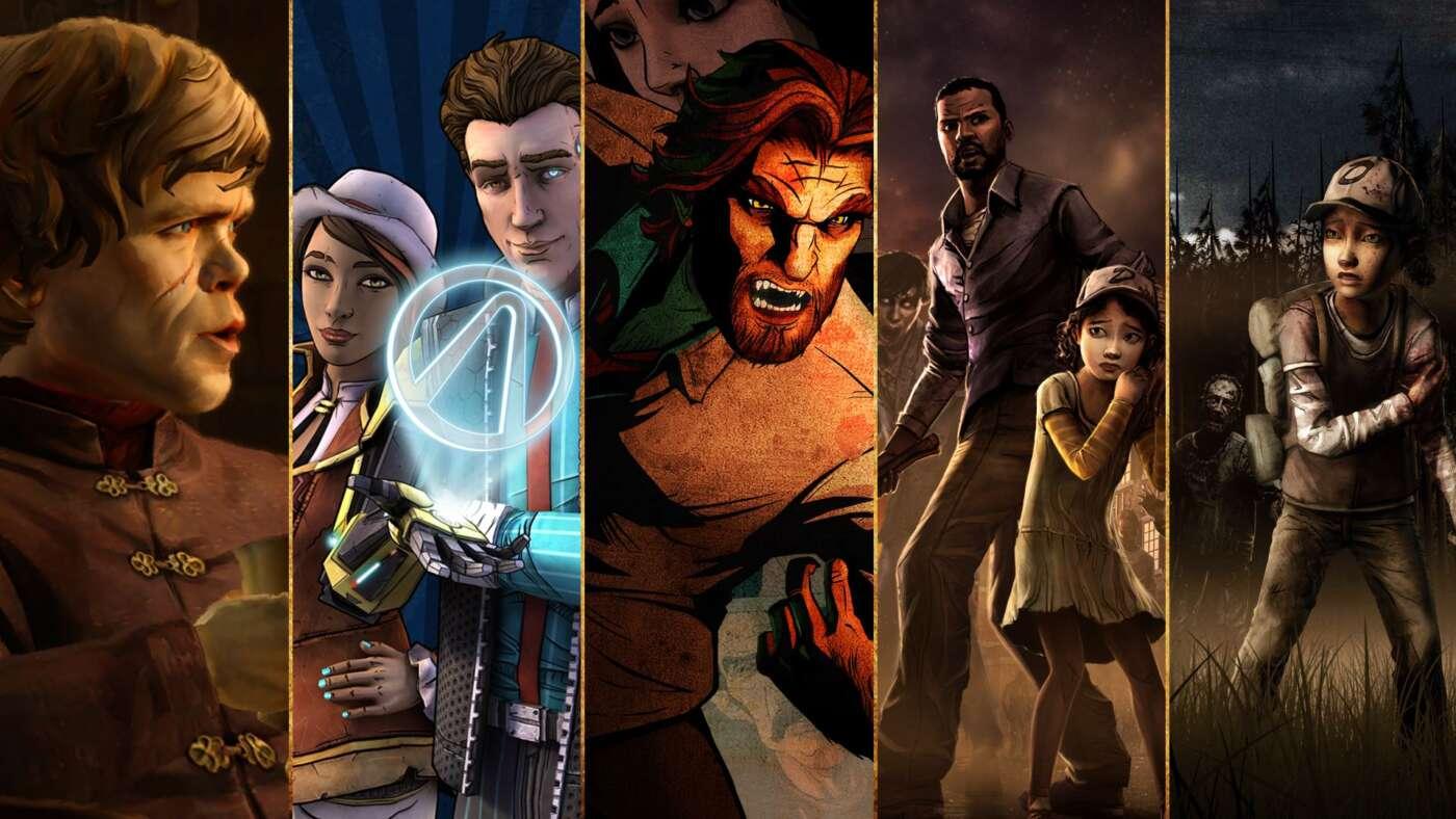 Afbeeldingsresultaat voor telltale games